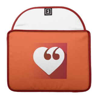 "Free Speech Love 13"" Macbook Pro sleeve"