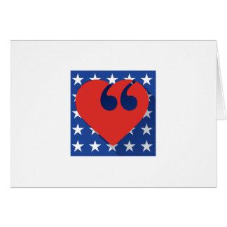 Free Speech USA Love Card