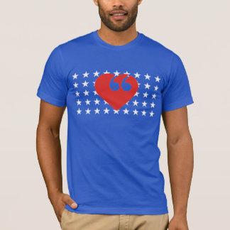 Free Speech USA Love T-Shirt
