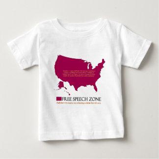 Free Speech Zone Baby T-Shirt