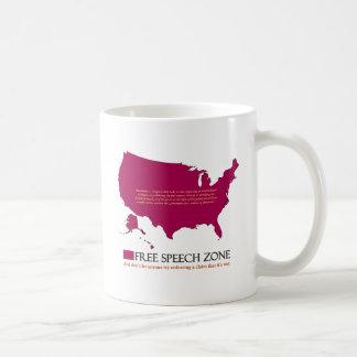 Free Speech Zone Coffee Mug