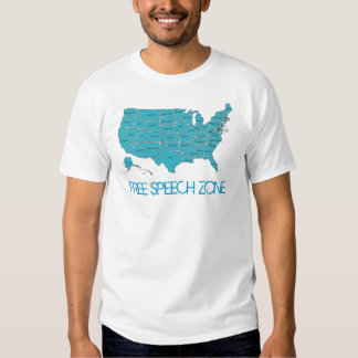 Free Speech Zone T-Shirt