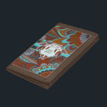 """Free Spirit, Boho Trifold Wallet<br><div class=""""desc"""">Free Spirit,  Boho wallet,  Additional decorations and gifts are available within our Bohemian Style Home Collection at MetroDesignz on Zazzle. For customized graphics and products please contact Metro-Designs</div>"""