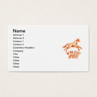 Free Spirit Business Card