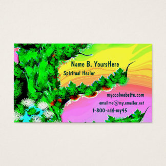 Free Spirit Color Business Card