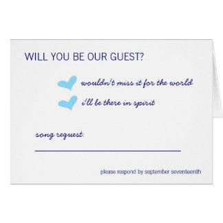 Free Spirit Response Card