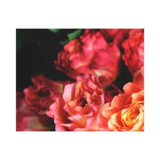 Free Spirit Roses Art Print Canvas Print