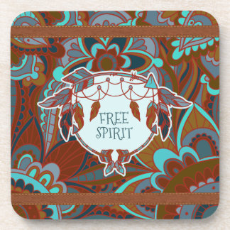 Free Spirit, Rustic Beverage Coaster