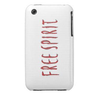 Free Spirit Transparent iPhone 3 Case