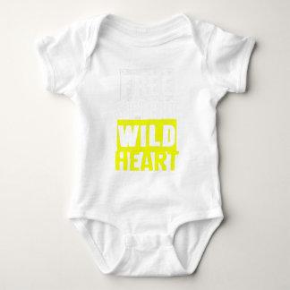 Free Spirit Wild Heart Boho Hip Adventure Bohemian Baby Bodysuit