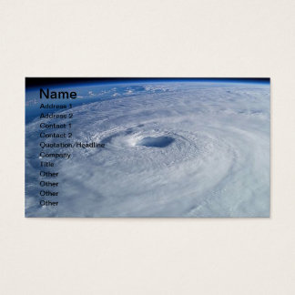 Free Stock Photo of Hurricane Isabel, Name, Add... Business Card