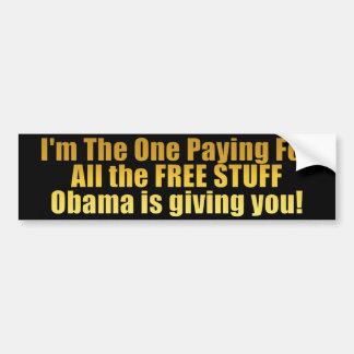 FREE STUFF! - Anti Obama Bumper Sticker