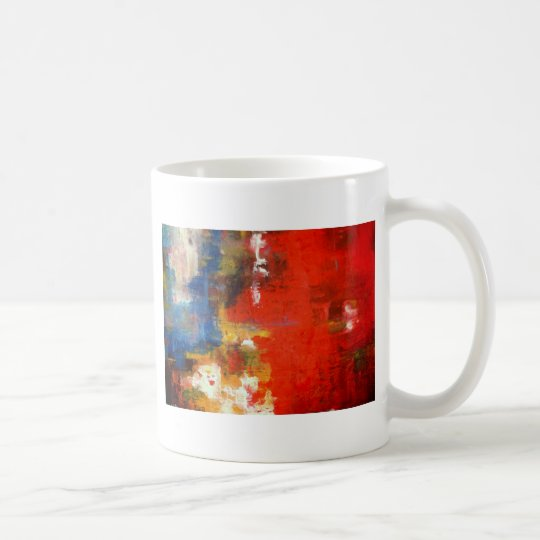 Free Style Abstract Coffee Mug