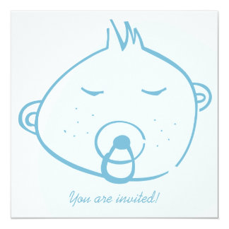 Free Style Baby Boy -  Baby Shower Card