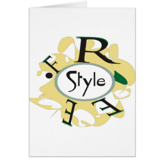 FREE STYLE CARD