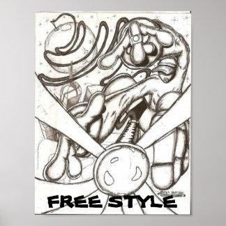 FREE STYLE PRINT