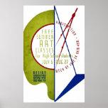 Free Summer Art Classes - WPA Poster -