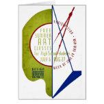 Free Summer Art Classes - WPA Poster - Card