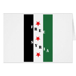 Free Syria Card