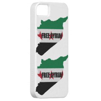 Free Syria i-Phone 5 case iPhone 5 Case
