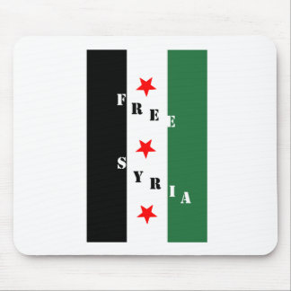 Free Syria Mouse Pad