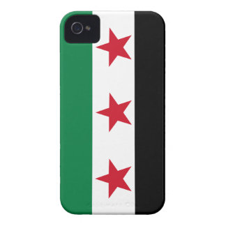 Free Syria Syrian Revolution Flag IPhone case iPhone 4 Cases