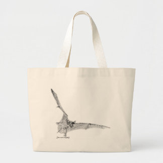 Free Tailed Bat Canvas Bags
