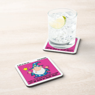 Free Tech Support Beverage Coaster