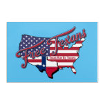 Free Texans Acrylic Print