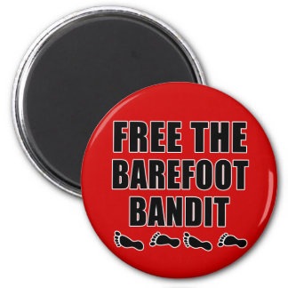 Free the Barefoot Bandit Tshirts 2 Inch Round Magnet