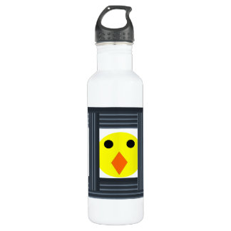 Free the Battery Hens 24oz Water Bottle