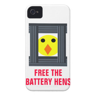 Free the Battery Hens Blackberry Bold Case