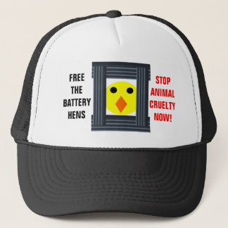 Free The Battery Hens Hat
