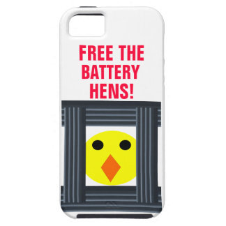 Free The Battery Hens iPhone 5 Case