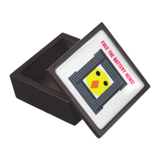 Free the Battery Hens Premium Gift Bo Jewelry Box