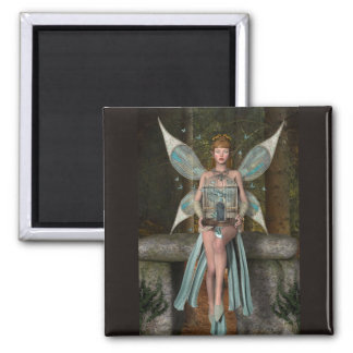 Free The Butterflies 2 Inch Square Magnet