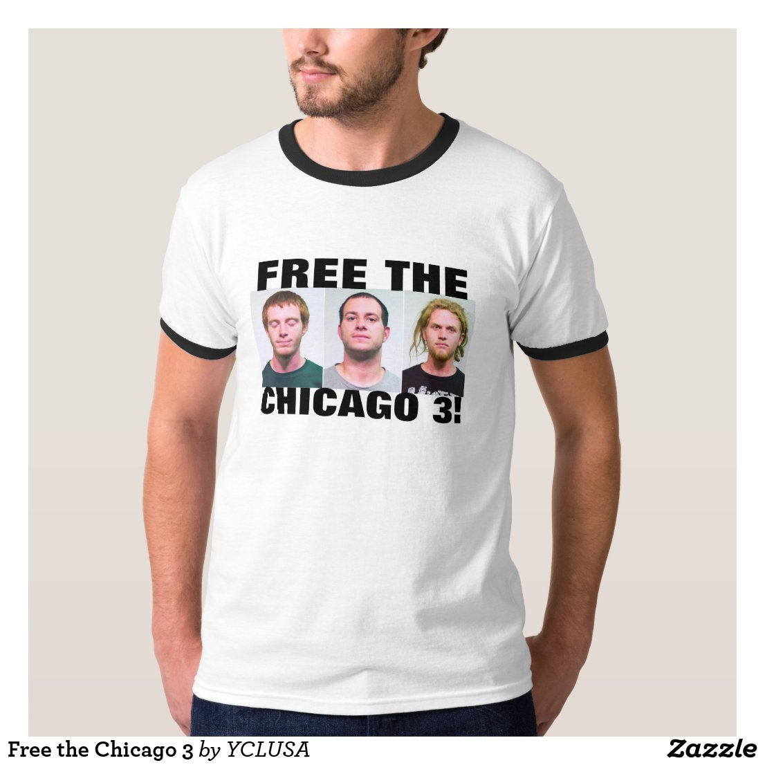 Free the Chicago 3 T-Shirt