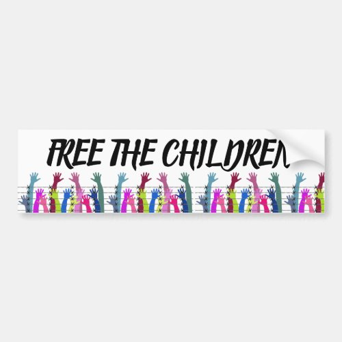Free the Children Bumper Sticker