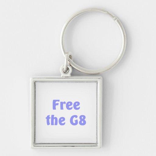Free The G8 Key Chains