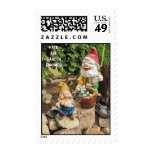 Free the Garden gnomes Postage Stamp
