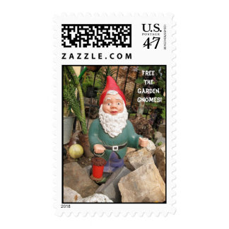 Free the Garden gnomes Stamp