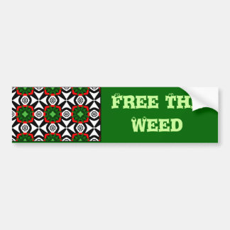 Free The Herb_ Bumper Sticker