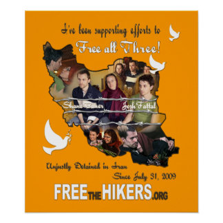 Free the Hikers POSTER