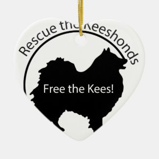 Free the Kees! Ceramic Ornament