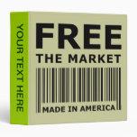 Free The Market 3 Ring Binder