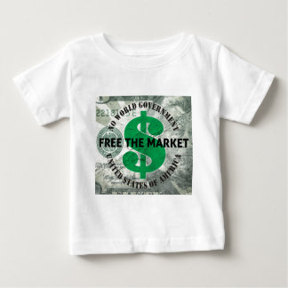 Free The Market Baby T-Shirt