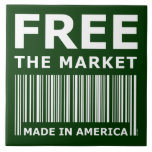Free The Market Ceramic Tiles