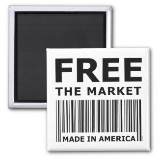 Free The Market Magnet