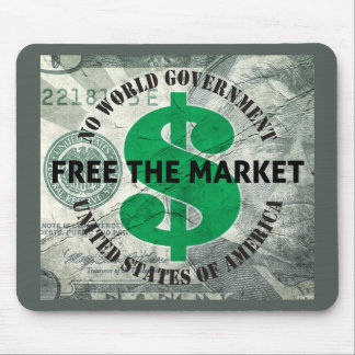 Free The Market Mouse Pad