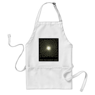 Free The Market Now Adult Apron
